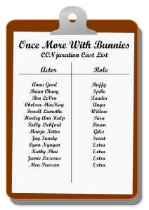 Once More With Bunnies Cast List