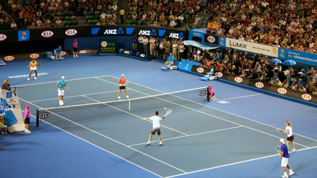Team Red vs. Team Blue at Rod Laver Arena
