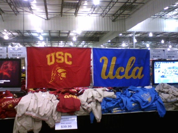 UCLA_and_USC_gear_on_sale_at_Costco