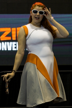The Amazing Fashion Show showcased styles for men and women based on geeky pop culture on the main stage during Amazing Arizona Comic Con on February 13. Con-goers were treated to a runway style show displaying the creations of various vendors in attendance.