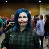 @damaged_generation__ cosplaying during @amazingcomiccon in Phoenix, Arizona on February 14.