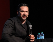 """It's fun to play the bad guy, but good to be the good guy,"" Jason David Frank said about the Green With Evil storyline from Mighty Morphin Power Rangers during his panel at Salt Lake Comic Con on September 1. Salt Lake Comic Con was held at the Salt Palace Arena in Salt Lake City from September 1 through 3. / Photo by Stephan Starnes"