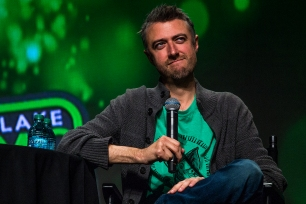 Sean Gunn appeared for a Ravagers reunion panel to talk about his experiences filming Guardians of the Galaxy Vol. 2 at Salt Lake Comic Con on September 23, 2017. Salt Lake Comic Con was held from September 21-23.